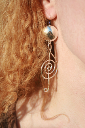 G-klav örhängen